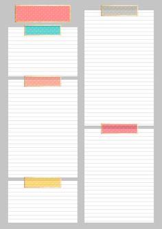 Imprimibles gratis para organización. Descarga plantilla para planning y mucho más en www.nuskyna.blogspot.com