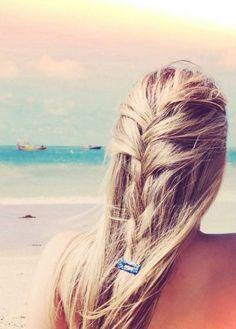 beach braid, I love this