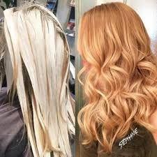 Resultado de imagen de strawberry blonde balayage
