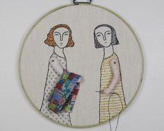 Beautiful embroidery art