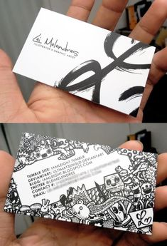 55+ Awesome Double Sided Business Cards for Inspiration - Bloom Web Design