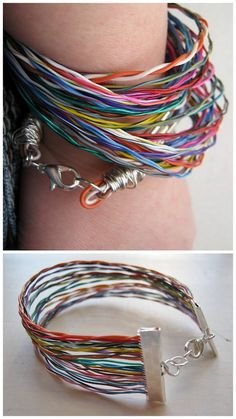 Gosh, who'd a thunk my printer cable jewelry would be such a hit! :D Many thanks to IrisNectarStudio (http://irisnectar.tumblr.com/page/4), Andrew Salamone (http://makezine.com/craft/printer-cable-bracelet/), and http://truebluemeandyou.tumblr.com/search/printer+cable+bracelet
