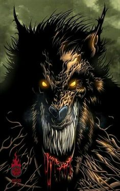 """Cover published a couple years back. Originally intended to be under the title of """"The Howling"""". Published as """"Curse of the Blood Clan"""". The Howling Arte Horror, Horror Art, Dark Fantasy, Fantasy Art, Image Halloween, Scary Halloween, Dragons, Werewolf Art, Werewolf Games"""