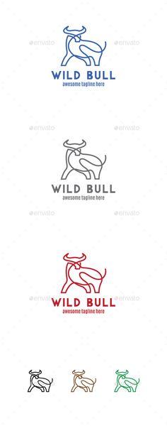 Wild Bull Logo Mascot - Download…
