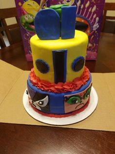 Teen Titan Cake Fondant Cakes, Teen, Desserts, Food, Tailgate Desserts, Deserts, Essen, Postres, Meals