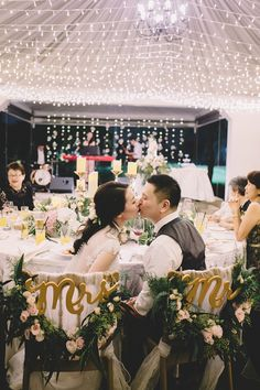 Beautiful and romantic wedding fairy light lighting at wei liang and esther's rustic wedding // wei liang and esther tied the knot in an intimate rustic Rustic Wedding Alter, Rustic Wedding Seating, Rustic Wedding Rings, Rustic Wedding Backdrops, Rustic Wedding Flowers, Simple Weddings, Romantic Weddings, Diy Wedding Favors, Wedding Decorations