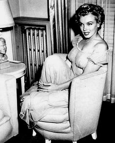 """""""Marilyn Monroe photographed by Carlyle Blackwell, 1951. """""""