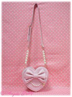 5aa5373a62f7 Lady Heart Ribbon Handbag. Sammy Bolstad · Lolita Bags