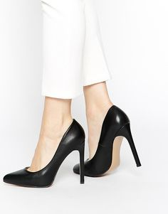 Truffle Collection Alma Black Court Shoes at ASOS. Walked around in it for the whole of today absolutely uncomfortable to walk in but worth it