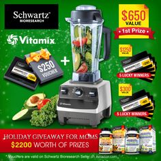 Help me win the Holiday Giveaway for Moms!