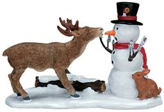 Lemax Snack Time Figurine - Christmas Elves