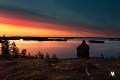 Hiljainen Höytiäinen Kuva Eppu Mutanen Finland, Celestial, Sunset, Places, Outdoor, Sunsets, Outdoors, Lugares, Outdoor Games