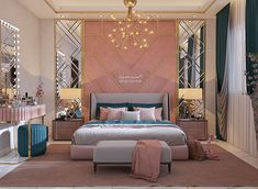 Bedroom Wall Designs, Room Design Bedroom, Bedroom Furniture Design, Room Ideas Bedroom, Home Room Design, Home Decor Bedroom, Bed Room, Master Bedroom Interior, Modern Bedroom