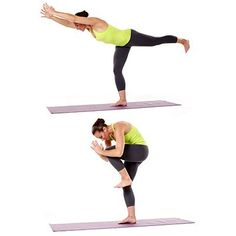 The 5 Minute Ultimate Core Workout-Stand with feet together. Lift left leg straight back, hinging forward at hips, reaching hands forward by ears; keep hips level and body straight from hands to heel. Using abs, draw left knee in to chest, bending elbows to pull arms down to knee; return to previous position. Make it easier: Hold onto chair or counter with one hand. Continue for 20 to 30 seconds; switch sides and repeat.