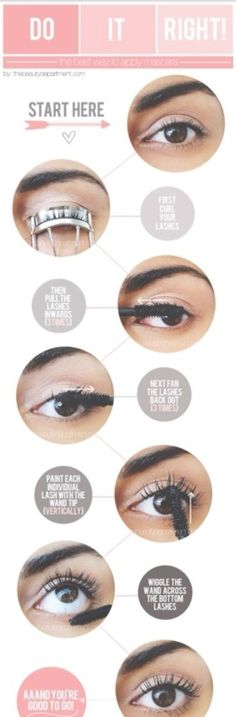 Best Way To Apply Mascara!