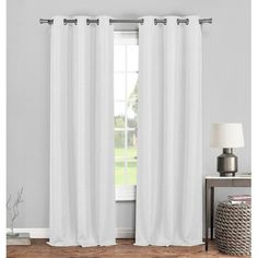 Found it at Wayfair - Tabatha Solid Blackout Grommet Curtain Panels