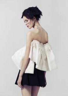 Image Malene Birger, Polo Neck, American Apparel, Steve Madden, Strapless Dress, Stylists, Zara, Ballet Skirt, Turtle Neck