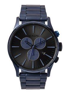 Sentry Chrono - Deep Blue | Nixon Neo Preen