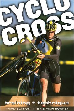 If you can only get one cyclocross book, this is the one you want. Packed with cyclocross tips, how-to, bike setup, and training advice. Cross Training, Training Tips, Cycling Books, Book Format, Used Books, Get One, Author, Sports, Hurdles