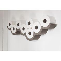Betónový držiak na toaletný papier Lyon Béton Cloud L | Bonami