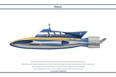 Thunderbird One by WS-Clave on DeviantArt Thunderbirds Are Go, Sci Fi Tv Shows, Classic Sci Fi, Silver Wings, Futuristic Cars, Kids Shows, Submarines, Amazing Cars, Fighter Jets