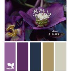 DesignSeeds® { deep flora } https://www.design-seeds.com/P528
