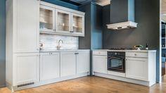Keukenloods kasteel eiken grijsbruin mooi tijdloos interieur