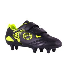 low priced c93a1 cdcc6 Razor Velcro 6 Stud Boots JNR - Black-Yellow Free UK   EUROPEAN delivery!!   footballboots  footballshoes  footballgear  FootballSportswear  cleats   football ...