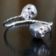 If you're looking for a good scare, check out the price tag on some high-end designer jewelry--terrifying! Luckily, knockoff jewelry projects like this High-Fashion-Inspired Skull Bangle let you get the designer look for way less.