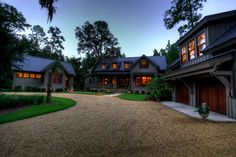 Family Compound On Pinterest Rustic Exterior Modern