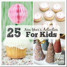 25 New Year's Eve Activities for Kids | RaisingLifelongLearners.com