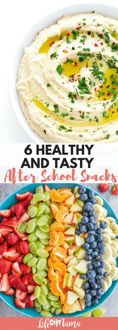 Most kids want to reach for a bag of chips or cookies, but although we love the convenience, most of us would prefer our children to also choose healthy snacks! We want to help you prepare for easy, HEALTHY recipes to keep on hand for your children to enjoy after a long day at school.Here are 6 simple and healthy after school snack ideas