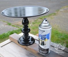 DIY cake stand from artisan cake company & altered ambitions: Gifting for Hip Hop! DIY cake stands ...