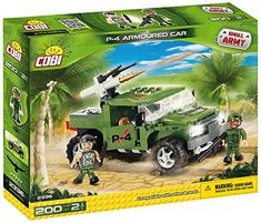 COBI Small Army P4 Armoured Car >>> Find out more about the great product at the image link. (Note:Amazon affiliate link)