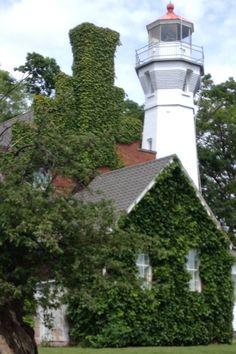 Port Sanilac Lighthouse, Lake Huron-Michigan