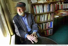 Lawrence Ferlinghetti at City Lights Bookstore, SF, CA Essayist, Playwright, Authors, Writers, City Lights Bookstore, Lawrence Ferlinghetti, Psychedelic Drugs, Beat Generation, American Literature