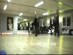 zumba - we will rock you