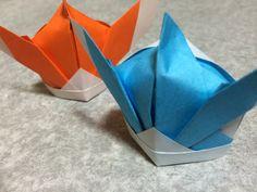 おりがみ=こどもの日 高級兜(こうきゅうかぶと)#1 =おってみた!高級カブトの折り方 Japanese Traditional Origami Samurai helmet