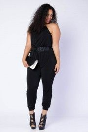 136ae34f58e Shop Plus Size Rompers   Jumpsuits − G-Stage