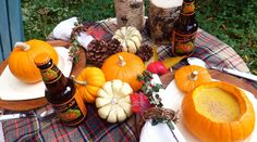 Ash Tree Cottage: Wrapping Up Autumn Tablescapes