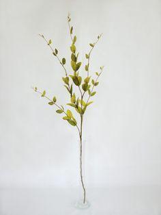 Lonicera Leaf Spray - Light Brown #artificialflower
