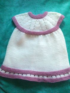 Free Pattern: Lazy Daisy All-in-One Baby Dress