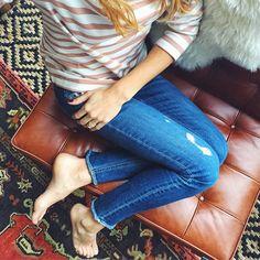 stripes for the weekend  | #darlingweekend #ootd #stripes @liketoknow.it www.liketk.it/2aq7p #liketkit