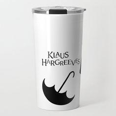 Klaus Hargreeves Umbrella Academy Travel Mug by Karla Fiore - 20 oz Coffee Travel, Travel Mug, Disney Font Free, Coffee Cubes, Vacuums, Iced Coffee, Mugs, Tableware, Xmas