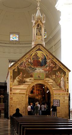 Porziuncola in the Basilica of St. Mary of the Angels | Assisi, Italy