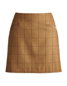 Inspired by the great British countryside, this skirt is crafted from warm wool-tweed and when paired with tights is a perfect look to warm up a frosty day. Joules Clothing, Crew Clothing, Tweed Skirt, Tweed Jacket, Country Attire, Elegant Sophisticated, Country Fashion, Pleated Midi Skirt, Colourful Outfits