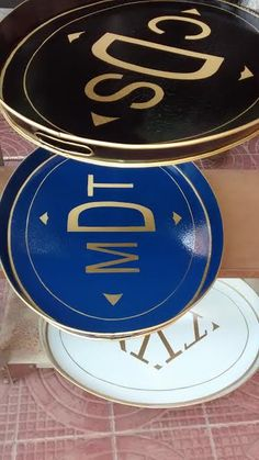 - The Enchanted Home  newest monogram gallery trays at http://theenchantedhome.co/product-category/shop-chinoiserie-tole/