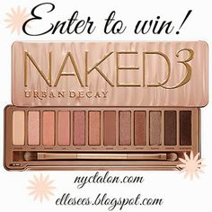 Urban Decay Naked Palette 3 Giveaway!
