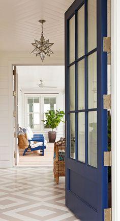 South Carolina Beach House with Coastal Interiors - Home Bunch – Interior Design Ideas