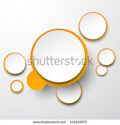 Paper Circle 스톡 벡터 및 벡터 클립 아트 | Shutterstock
